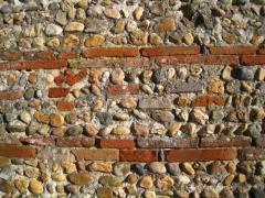 briques et galets de Garonne