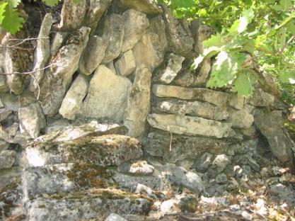 muret du Lubéron