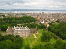 Holyrood et la ville_1632