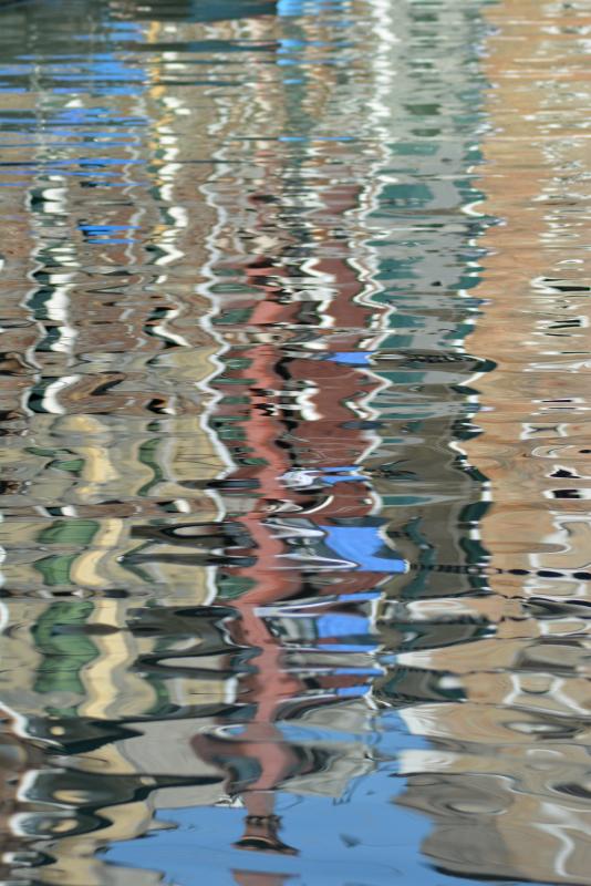 Comme un reflet dans l'eau…