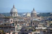 les toits de Rome-avril2013
