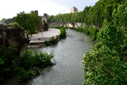 43_le Tibre et pont Aemelius ponte rotto